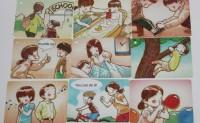 tpr教学法卡片,启蒙英语卡片,少儿幼儿园小学0-12岁英语卡片